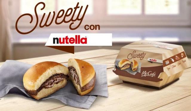 sweety nutella mac donalds