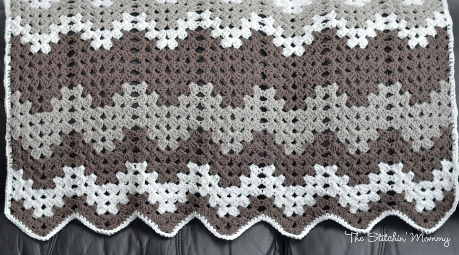 Beautiful Shells Baby Blanket Crochet Afghans Blankets Throws Chevron Pattern Diagram Mantas Pinterest