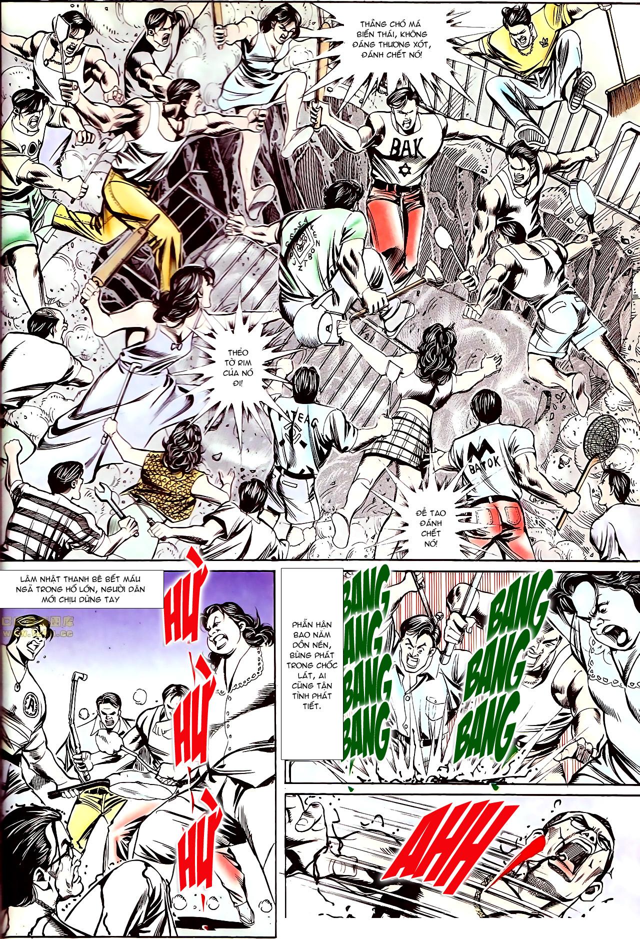 Người Trong Giang Hồ chapter 145: máu thịt tung tóe trang 9