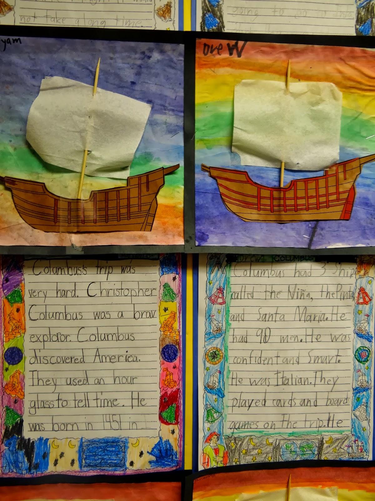 Columbus Day Activities – Patties Classroom [ 1600 x 1200 Pixel ]