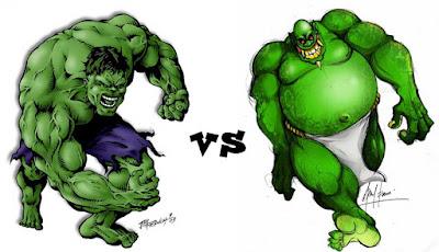 Hulk vs Buto Ijo