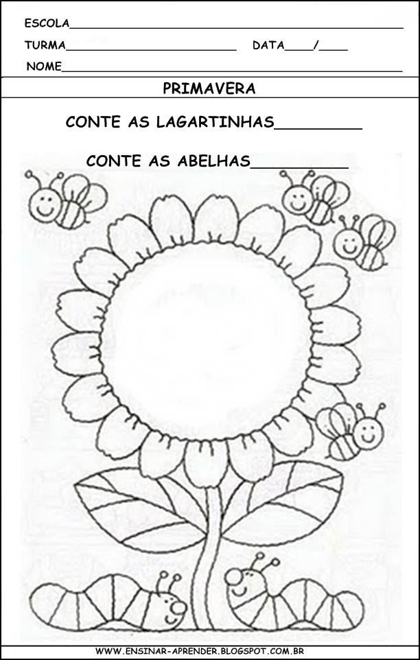 Populares PEDAGOGIA ONLINE EAD: Primavera - Educação Infantil SZ04