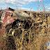 Caminhonete D20 com três pessoas tomba na PB-400 entre Horebe e Bonito de Santa Fé