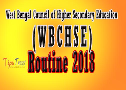 2018 HS Exam Routine