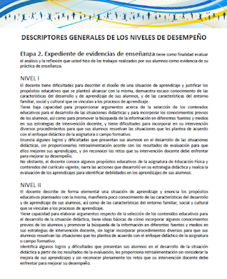 Descriptores permanencia docente