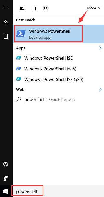 Windows 10 default icon shortcut in start menu not Working/Showing