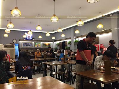 Thế Giới Đèn Gỗ - Những mẫu đèn trang trí quán cafe tuyệt đẹp 5