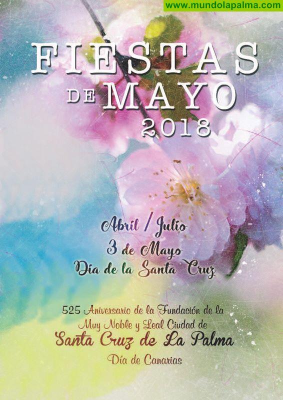 Programa de actos del Día de la Cruz y Fiestas de Mayo Santa Cruz de La Palma 2018