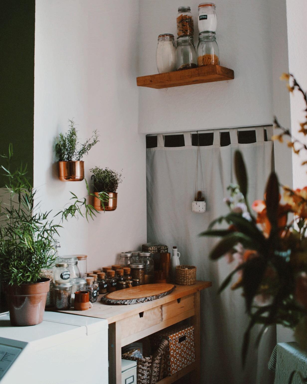 Urban Jungle Decorating Kitchen