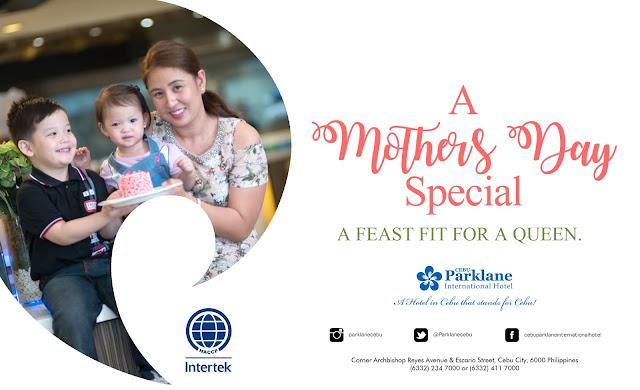 Cebu Parklane international hotel mothers day