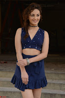 Seerat Kapoor Stunning Cute Beauty in Mini Skirt  Polka Dop Choli Top ~  Exclusive Galleries 059.jpg