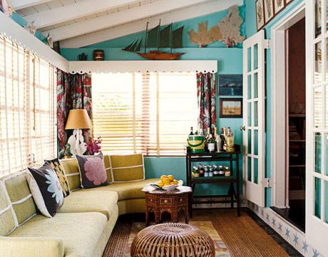 coastal sun room