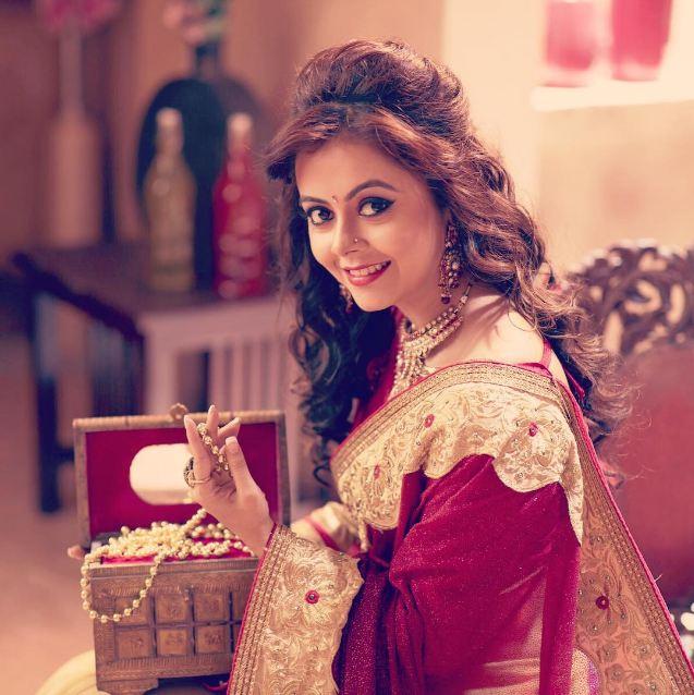 devoleena bhattacharjee makeup