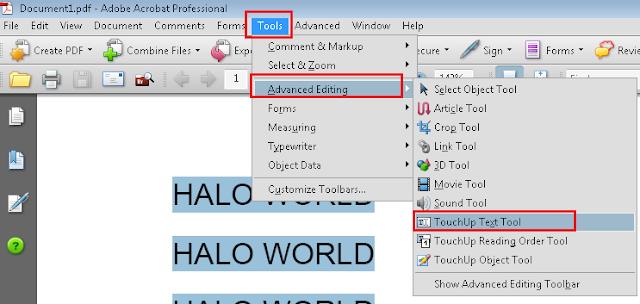 Cara Edit File PDF Terbaru