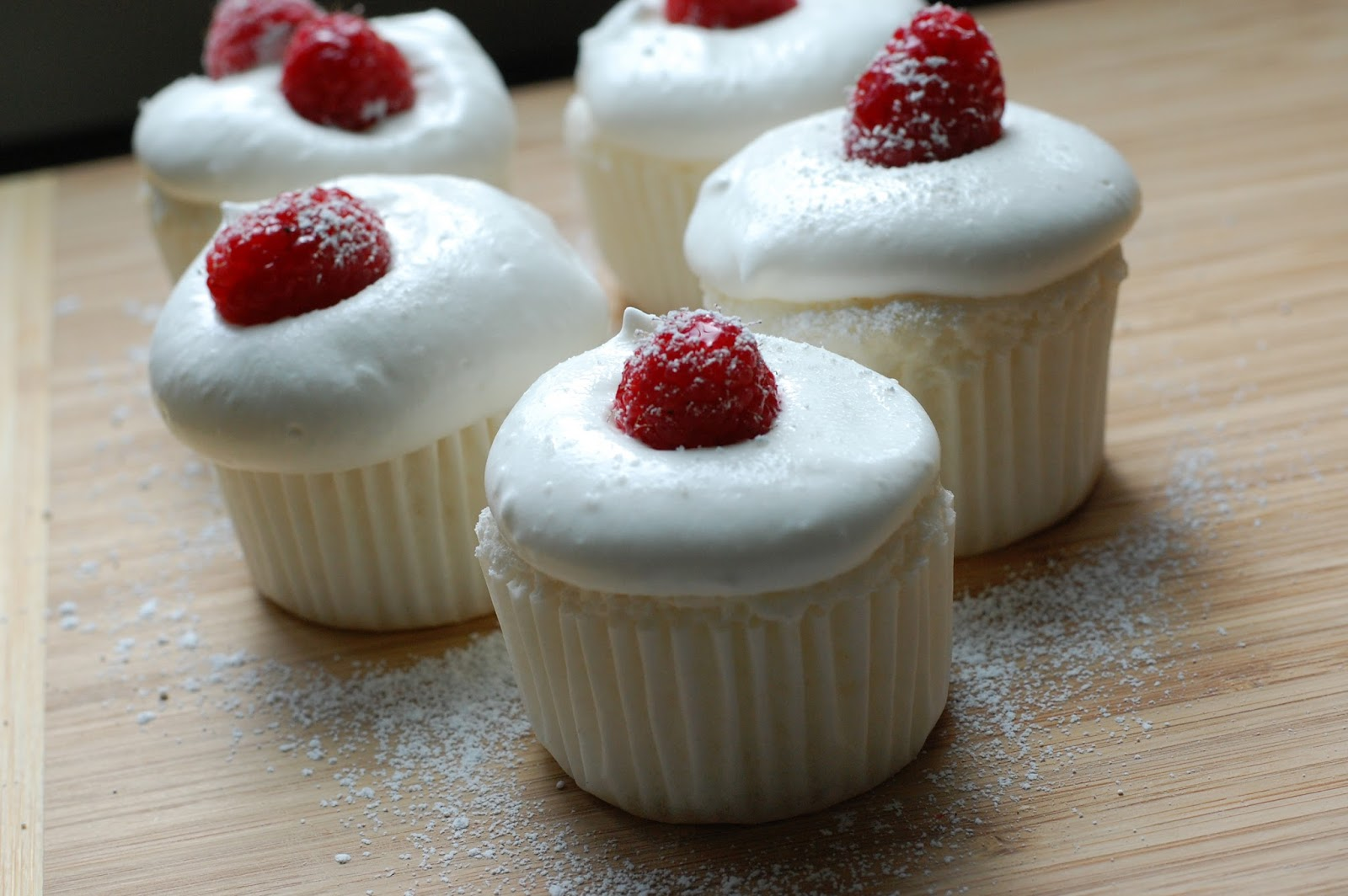Kelsie S Kitchen Snow Angel Cupcakes