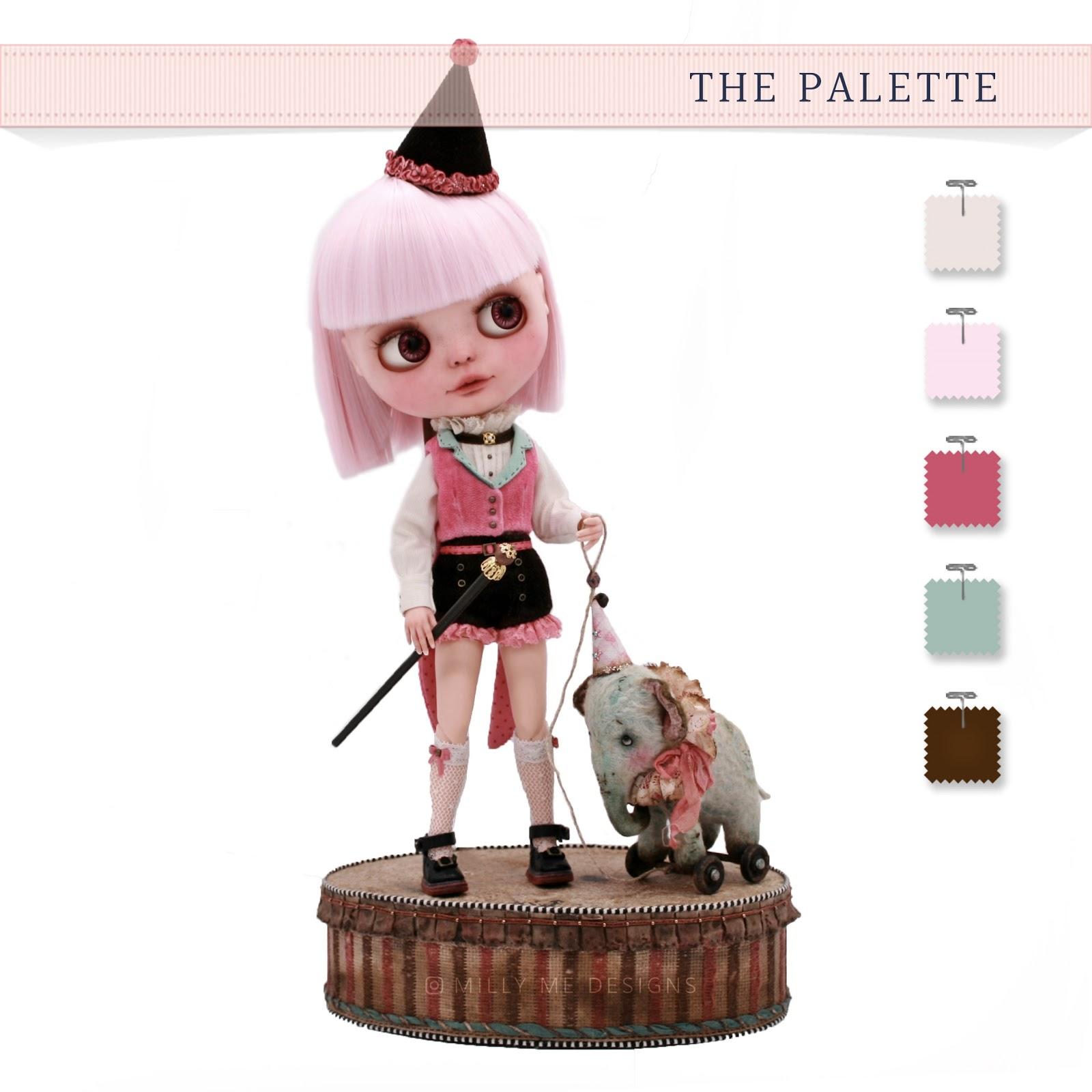 milly me designs, blythe, blythe outfit, blythe dress, blythe doll, blythe custom, custom blythe, blythe clothes