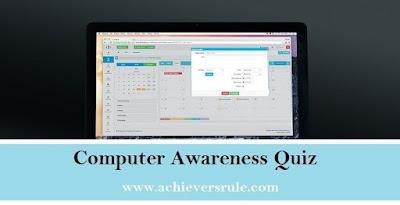 Computer Awareness Practice MCQ - Set 2