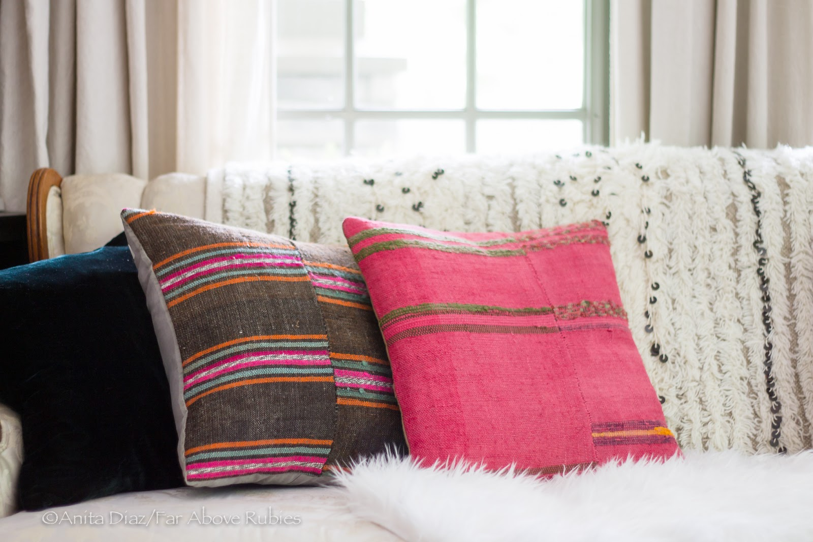 pillows pillow detail kilim