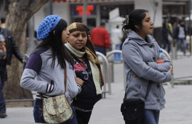 Bajas temperaturas  en México, entre 3 y cero grados