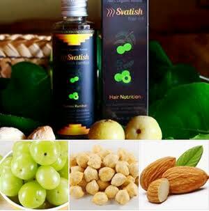Svatish Hair Nutrition Sehatkan Rambut & Kulit Kepala