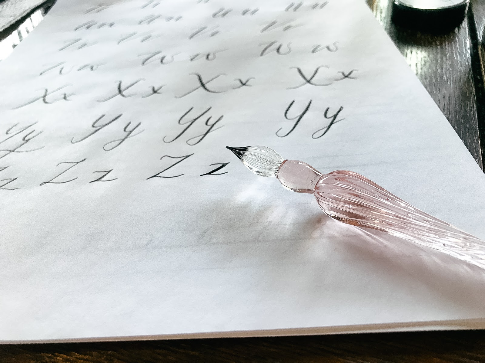 Victoria Blum Calligraphy Workshop in Hampshire