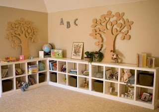 Storage and Organizing the kids' rooms, especially Sometimes your kids have more cloths and toys or furniture  than you have storage space. The good and Lucky for you, we've found 35 amazing storage and organizing ideas that you can complete in your kids room.