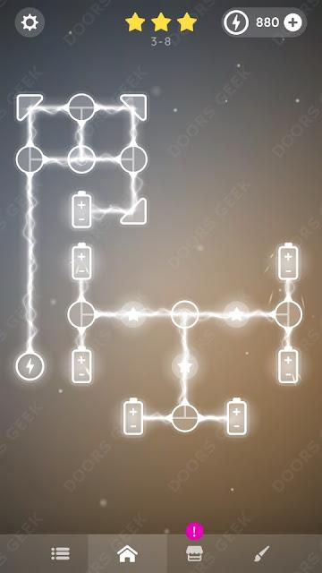 Laser Overload [Intermediate] Level 3-8 Solution, Walkthrough, Cheats