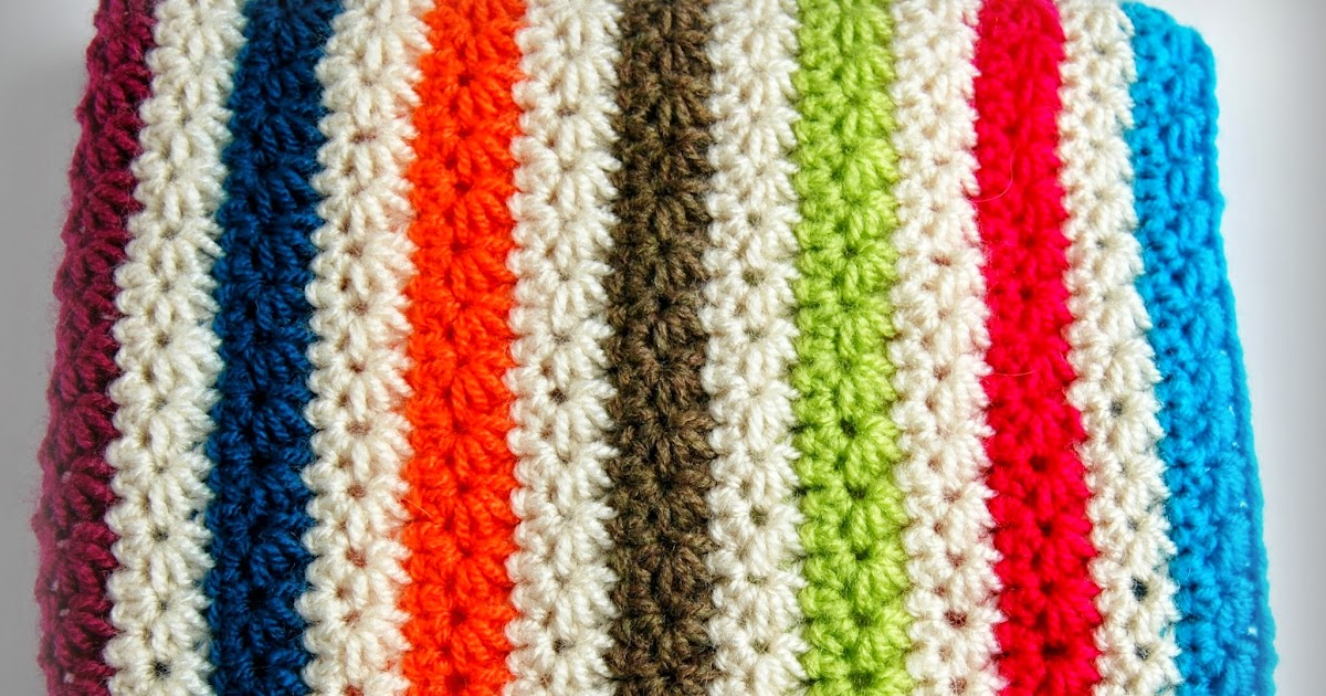 Mix How To Crochet The Star Stitch And Crochet A Warm Cosy Blanket