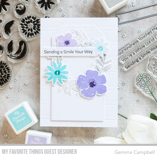 Handmade card by Gemma Campbell featuring products from My Favorite Things #mftstamps