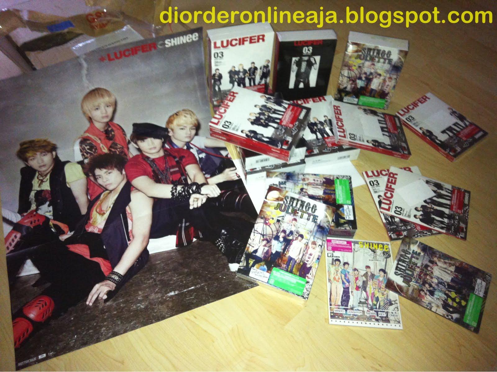 crave for KPOP item? --> di OrderOnlineAja Yuk! ^_^: SHINee