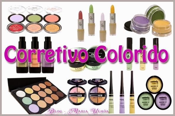 Corretivo Colorido - Finalidade para cada cor