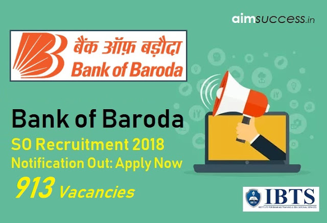 BOB Specialist Officers Recruitment 2018 – Direct Link to Apply!
