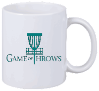 Disc Golf Tasse Game of Throws