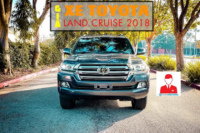 Giá xe Toyota Land Cruiser 2018 ảnh 1
