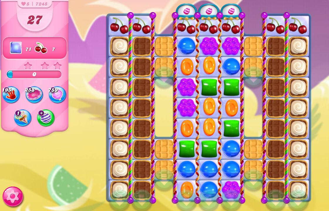 Candy Crush Saga level 7245