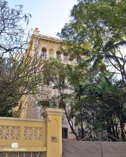 Vista ampla do Instituto Socioambiental ISA - Higienópolis - São Paulo