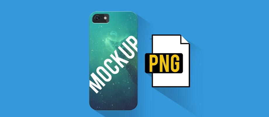 Download Mockup Custom Case File PNG