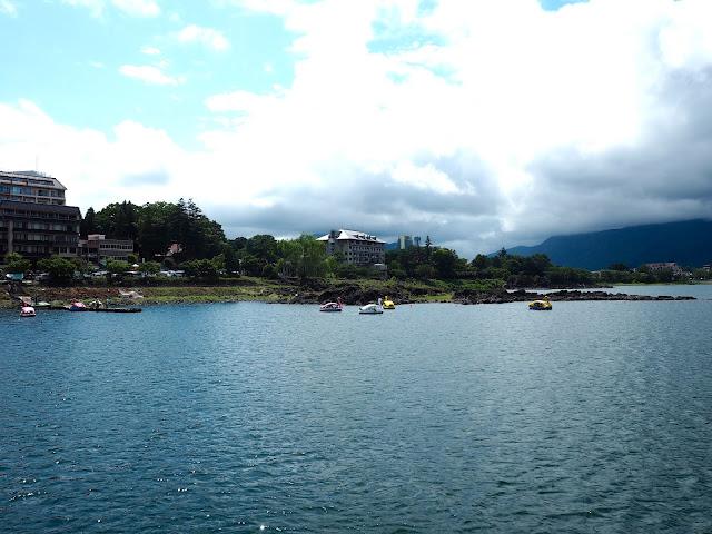 Lake Kawaguchiko, Fuji Five Lakes, Japan
