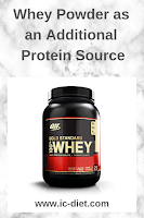 whey protein from Amazon affiliate link