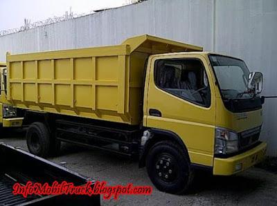 Gambar mitsubishi dump truk canter