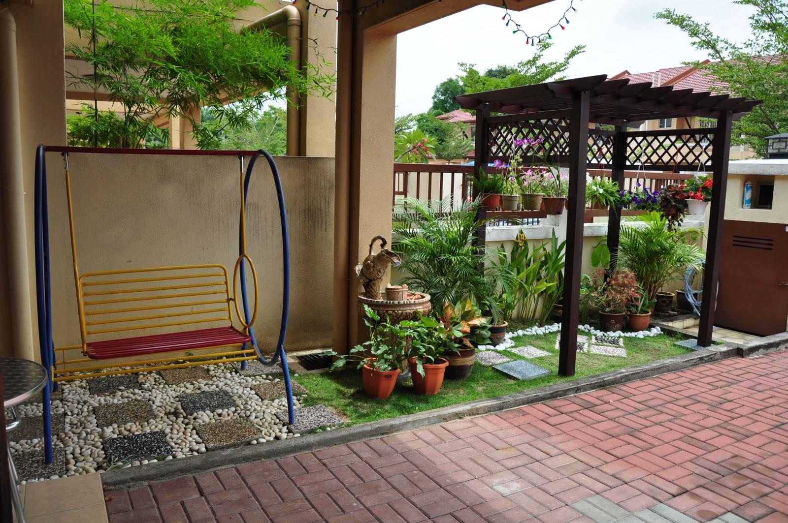 Desain Taman Bunga Gantung Kumpulan Desain Rumah
