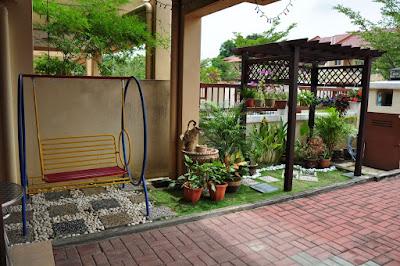 desain taman mungil rumah minimalis pada lahan terbatas