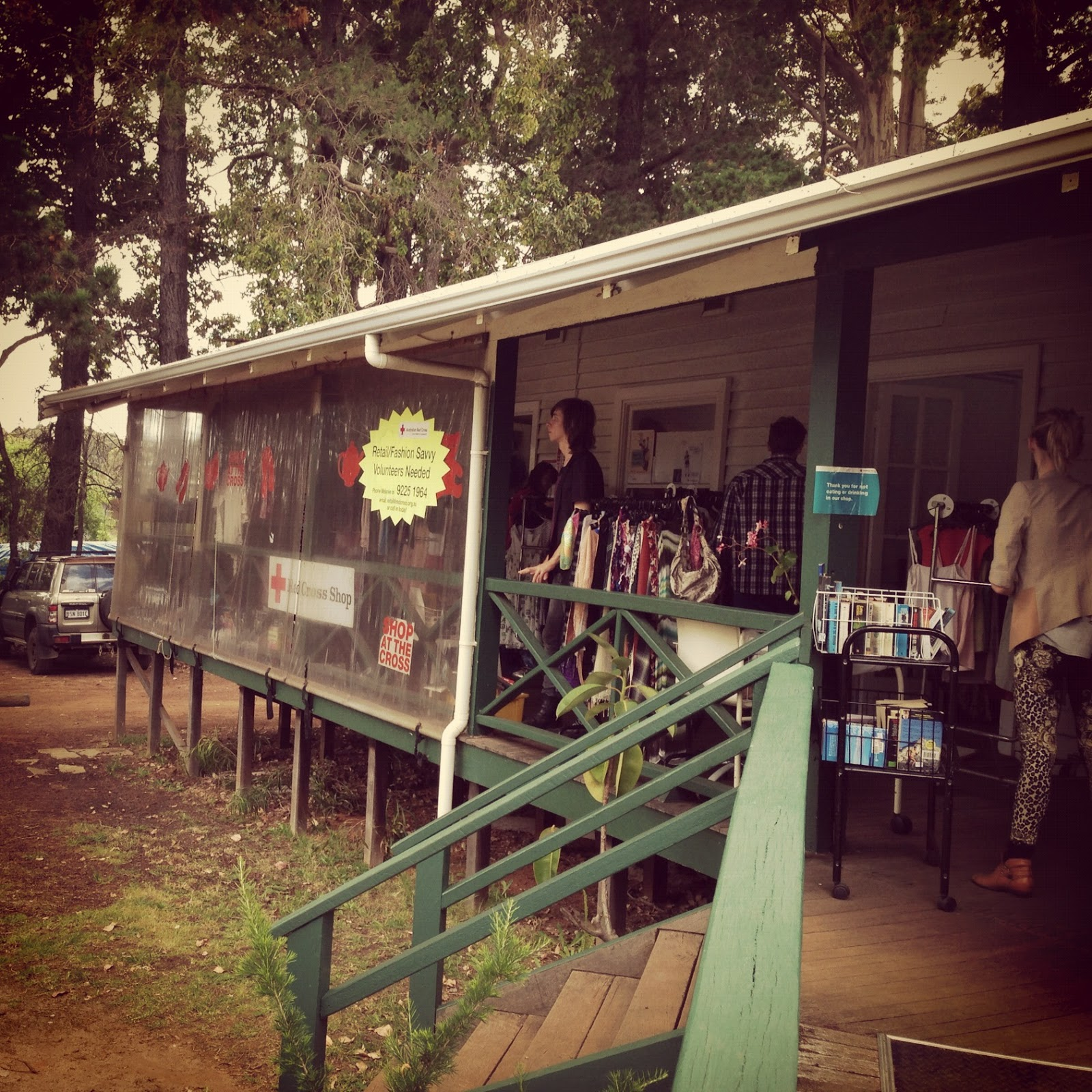 Country Road Pt III - Red Cross Margaret River Op Shop Review