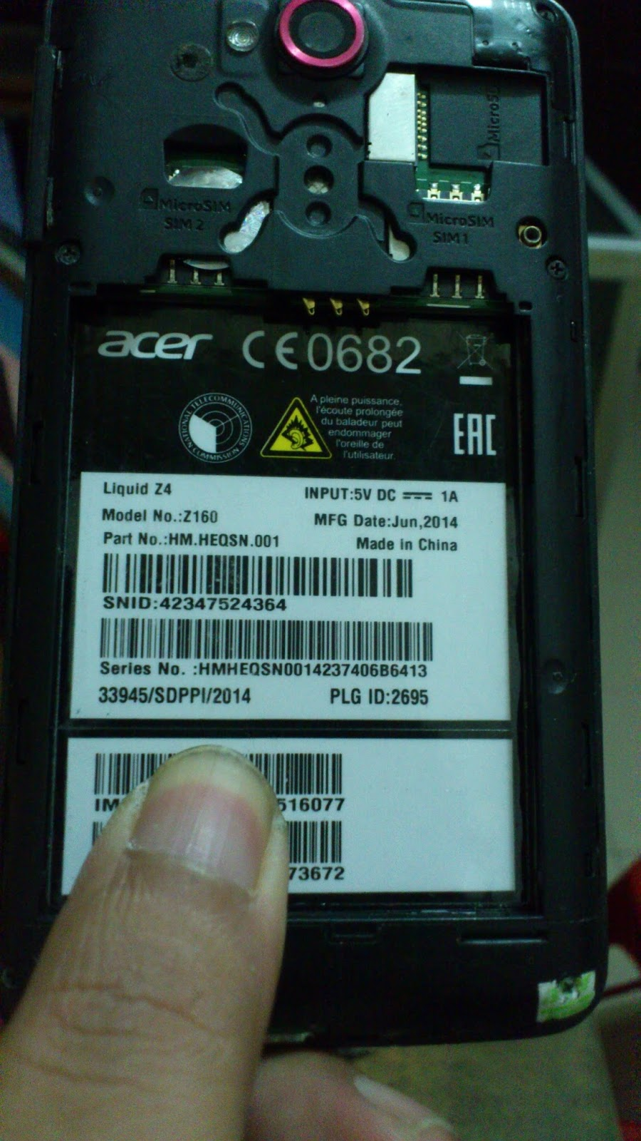 firmware acer z160 dual sim bahasa indonesia Archives