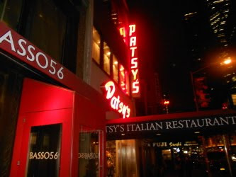Patsy's Italian Restaurant in New York City