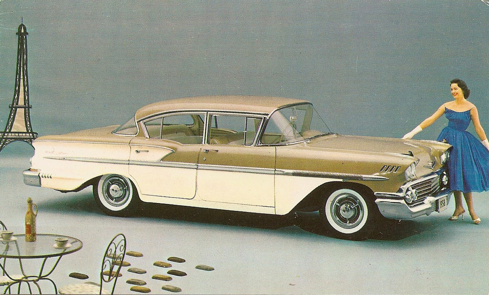 All Chevy 58 chevy bel air : Car Culture Notebook: 1958 CHEVY BEL AIR: The Anatomy of a Sales ...