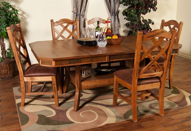 Rustic Dining Room Sets for Traditional Concepts