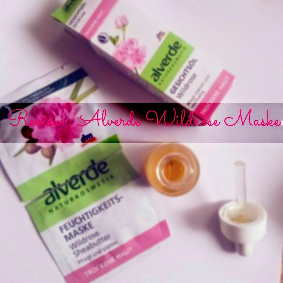Alverde Wildrose Maske