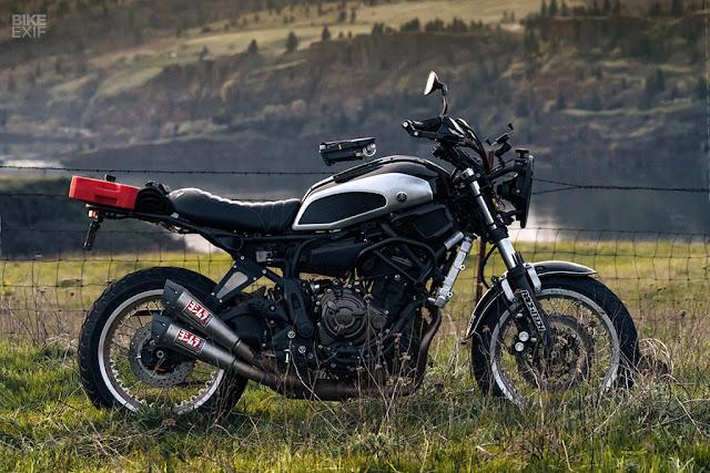 Ngắm Yamaha XSR700 Scrambler độ cho người mê phượt