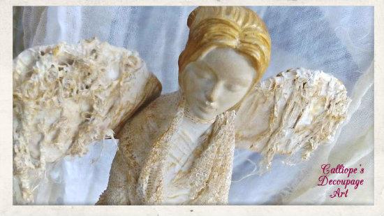 σεμιναρια Powertex στα χειροποιηματα καλλιτεχνικο εργαστηρι θεσσαλονικη,σεμιναρια Powertex θεσσαλονικη,γυναικειο αγαλματιδιο με Powertex,